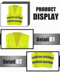 Sicurezza del traffico indumenti protettivi Avvertenza Vest uniforme Abbigliamento da bicicletta