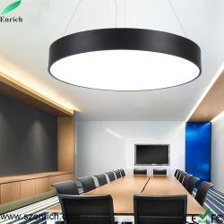 De aan het plafond opgehangen Ronde Vlakke Lichte LEIDENE van de Kroonluchter Lichten van de Tegenhanger met 3 Jaar van de Garantie