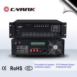 Amplificateur mélangeur 6 zones avec USB/Lecteur MP3