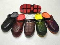 Cómoda y zapatos Sandalia de PVC EVA Garden zapatos zapatillas para hombres (FQF-6)