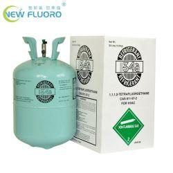 La alta calidad de gas refrigerante R134A con el cilindro de aire acondicionado R134A.