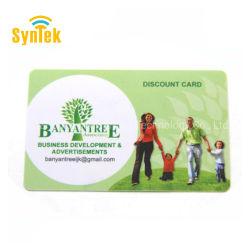 RFID personalizado impreso MIFARE S50 DESFire EV1 2K/4K/8K de la tarjeta de plástico inteligente
