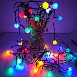 ضوء خيط شمسيّة عيد ميلاد المسيح أضواء زخرفيّة [LED] [وتر برسترس] سلسلة ضوء الشركات المصنعة بالجملة