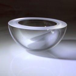 Optische saffierglazen koepel voor snelle rakettenraketten