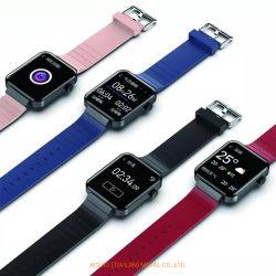 Il USB carica il braccialetto di vigilanza astuto impermeabile di Bluetooth Smartband del grande dello schermo del Wristband di Digitahi Mutilanguage di frequenza cardiaca di pressione sanguigna video di temperatura corporea