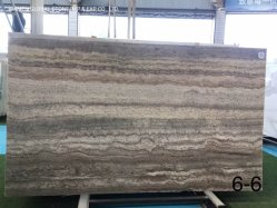 Хорошее соотношение цена Иран серебристый серый травертина слои REST для жилой интерьер стены пола отрежьте по размеру плитки