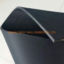 SBR EPDM Neopren Nitril Naturkautschuk-Blatt mit Stoff Baumwolle Einsetzen von Nylon 1ply