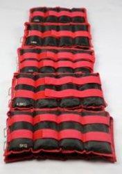 حقيبة رمل ذات أوزان قابلة للضبط مع حقيبة رمل رياضية مع كاحل معصم بوزن 2كجم-16 كجم