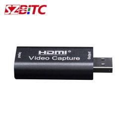Captura HDMI de sintonização de TV HDMI para USB 2.0 Grabber Caixa Gravar