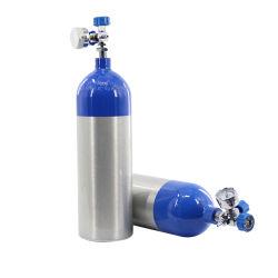 Tubos de Aço Sem Oxigénio Portátil Médico do depósito de lixo doméstico de fornecimento de cuidados de saúde Medical cilindro de oxigênio