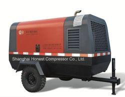 15.5m3/min 17bars à la mi-pression compresseur à vis diesel portable
