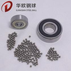 Fornitura in fabbrica AISI 52100 HRC 60-66 sfera in acciaio solido lucidato a specchio per parti di motociclette, parti auto, cuscinetti
