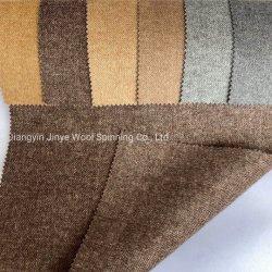El mismo color, tamaño diferente de la Espina de Pez, patrón de diseño clásico de tejido de lana, 50W50p