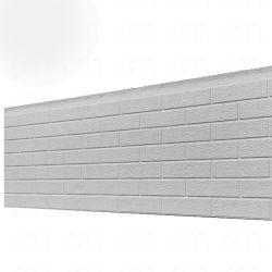 클래딩 포 브릭 월 패널 PU 샌드위치 열 절연 외관 벽