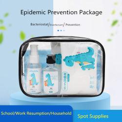 Las combinaciones de 6 paquete de antivirus con Certificado de prevención de la epidemia paquete volver al trabajo de la escuela reanudación