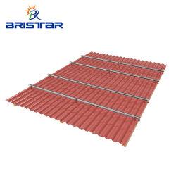 Zonnepaneel montage Waterdicht Aluminium verstelbare flitskit Slate Tile SUS304 steunhaak zonnedak aan wand