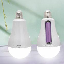 مصابيح LED الأمامية القابلة للشحن طراز E27 مصباح LED