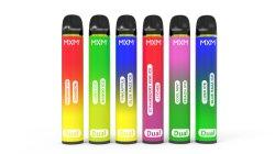 Canada 2021 Nouvelle barre de bouffée de cigarette électronique 2500bouffées Vape stylo jetable double saveurs OEM Bigbar Aotumizer vapeur 2 en 1
