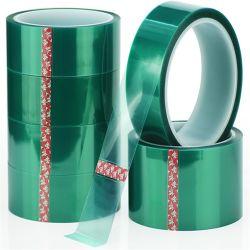 3D 인쇄 분말 코팅 고온 녹색 PET 폴리에스테르 필름 마스킹 테이프