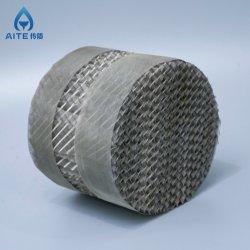 Aço inoxidável fio metálico de gaze embalagem estruturado para a coluna de rectificação