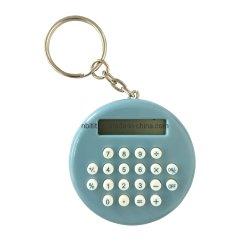 Pn-2246 Calculatrice de chaîne de clé, 8 Digital Mini-calculatrice La calculatrice, circulaire