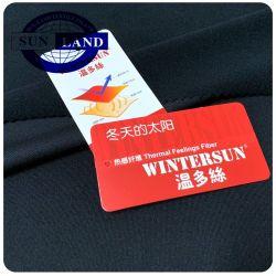 До сих пор Wintersun инфракрасного теплового полимерная трикотажный спандекс из полированного флис ткань для одежды