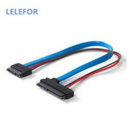 SATA 5V-Kabel Serial ATA 22pin 7+15 auf Slimline SATA 13pin 7+6 F/F