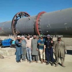 250 de la DPT La ligne de production de chaux active rapide