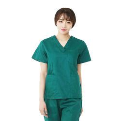 Die medizinische Dame-Baumwolle scheuert Best-Entwurfs-Form-Kleidung-Krankenhaus-Uniformen