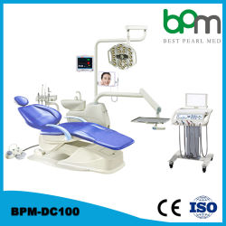 Bpm-DC100 CE معتمد الصين قطع الغيار المطوية السعر طي كرسي الوحدة للأسنان