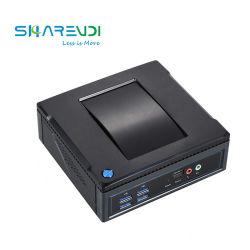 كمبيوتر سطح المكتب الصغير NUC كمبيوتر Thin Client مدمج مع معالج Core i3 5005u M. 2 WiFi من النوع C 2*HDMI