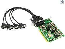 PCI de 4 portas RS-485/422 Adaptador Serial de alta velocidade com isolamento Ut-724I