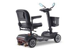 Faltender elektrischer Mobilitäts-Roller-Stolz für Sperrungs-Handikap mit grossen Rädern
