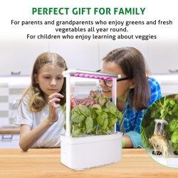 Hydroponics Smart Indoor Garten Kräuter Gemüse Küche Hausgeräte Vanille Saatgut