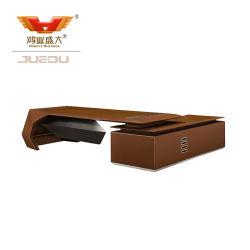 Wholsaleの現代木の革管理の机のオフィス用家具