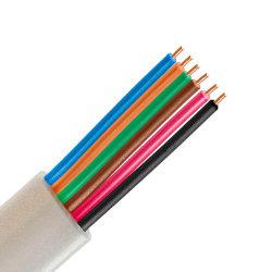 6 núcleos Flat Cable telefónico 30AWG Cable telefónico