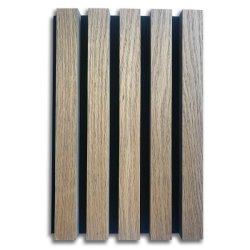 Fcoustic 3D Holz MDF Verbundakustik Wand Deco Panel Linear Holzdecke Polyester Faser Wandverkleidung Board