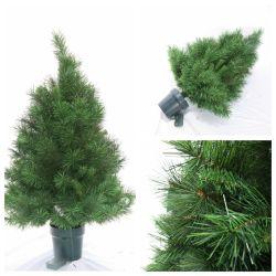Искусственные Xmas сосновых деревьев иглы с Сосуд ST7684