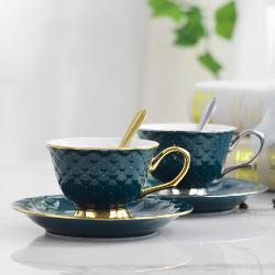 Porzellancup-und Saucers-Geschenk-Kaffeetasse-Geschenk