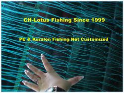 2019-2020 recentemente digiuna rete da pesca del Multifilament di nylon del prodotto 210d di consegna