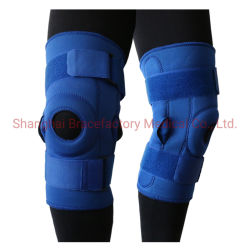 Het de scharnierende Stabilisator van de Knieschijf van de Steun van de Knie Open en Stootkussen van de Bescherming van de Knie voor de Preventie van de Verplaatsing van de Knieschijf