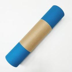 주문을 받아서 만들어진 로고 크기 및 색깔 - TPE 요가 매트 적당 Pilates Non-Slip Eco-Friendly 매트