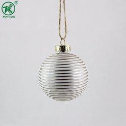 Окрашенные в цвет 6 см Стеклянный шарик Рождества орнамент