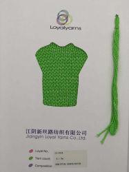 Le coton et polyester tresse creux Fils Fils à tricoter superposée Fabricant Ly-C024
