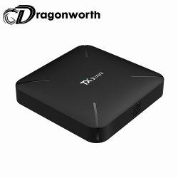 Dongle manuale di WiFi della TV dell'utente Android della casella per della casella superiore stabilita di Google del gioco della memoria di APP di trasferimento dal sistema centrale verso i satelliti TV il Mini-h S90W 2g 16g TV contenitore Android di casella Tx3