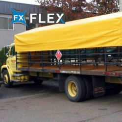 610g قماش من الكلوريد المتعدد الفينيل مغلف 1000d من قماش التربولين للخيمة وغطاء الشاحنة