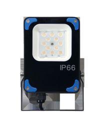 Compact ontwerpt iedereen in Twee 2200lm 15W het LEIDENE Licht van de Vloed met Afzonderlijk Zonnepaneel en de Ingebouwde Batterij van het Lithium 195wh