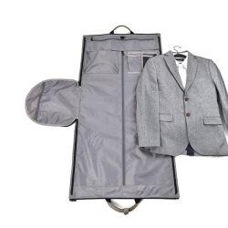 人の出張旅行ダッフルバッグのハングのスーツ袋の靴の衣類の衣服の箱のオルガナイザーシリンダーショルダー・バッグ