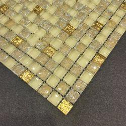 30X30 de goedkope Tegel van het Mozaïek van het Glas van het Kristal van de Prijs Mixcolor Opgepoetste