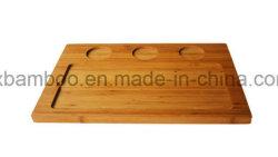 Commerce de gros bambou Ustensiles de cuisine Planche à découper en bambou pour le bac de steak, du fromage planche à hacher.